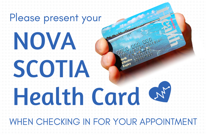 NOVA Scotia Health Card